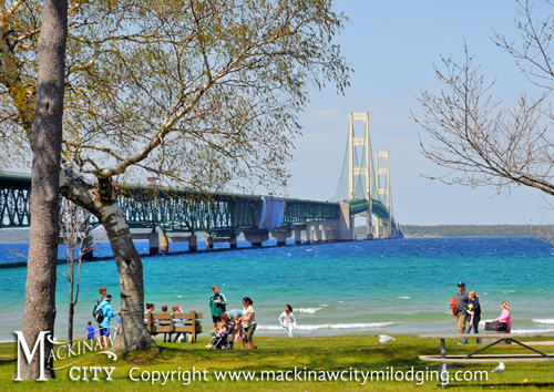 Mackinaw City Michigan Mi Lodging Attractions Ferries